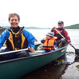 Tarbert holiday park kayaking